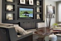 TV surround / mounting