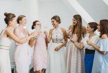 Brautjungfern | bridesmaids | Wedding