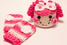 Crochet hats,Scarves,headbands,hair accessories,mittens / by Lori Sotelo
