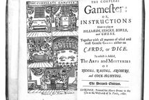 The Compleat Gamester / Charles Cotton.1674. The first work in the English language devoted to games of chance.