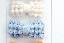 Crochet Bows Rusetit
