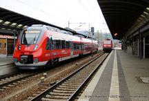 """Deusche Bahn AG - ET442 """"Talent 2"""" / Sie sehen hier eine Auswahl meiner Fotos, mehr davon finden Sie auf meiner Internetseite www.europa-fotografiert.de."""