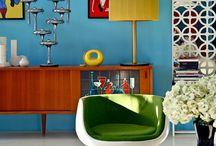 Design Style: Vintage/Retro / This board contains examples of vintage/retro home style.