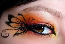 Eye Art / Colourful looking eye art....!!