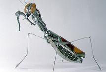 Edouard Martinet. Metal sculptures