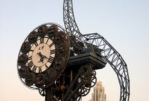 Strange Times / A collection of abstract, funky, cool and strange clocks from around the world.