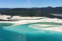 Whitsunday wonders / Located in the heart of the Whitsundays at the edge of the World Heritage listed Great Barrier Reef, Hamilton Island's backyard could not be more stunning. From vibrant coral formations to pristine white sand, from aqua to turquoise and every shade in between, the natural beauty of this corner of our world will take your breath away at every turn. Escape with us to Whitsundays paradise ...  / by Hamilton Island