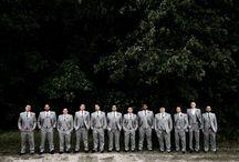 Bridesmaids + Groomsman Photos
