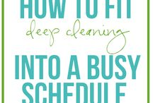Cleaning and organization tips / by Beth Dickens