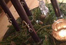 Advent og juledekorasjoner