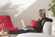 Work with pleasure online sitting at home