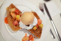 Pancake, waffle, gelato :3