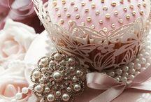 Cup cakes decorados