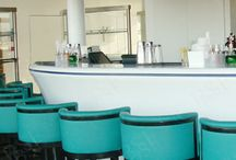 Oxo Tower Corian Bar / Oxo Tower Bar, a prestigious project we were very happy to be involved with.