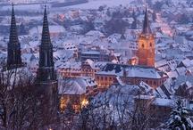 Noël à l'hôtel et à Obernai / Ambiance de Noël chaleureuse à l'hôtel et dans la ville