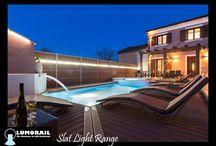 Slat light / A full slat system with integrated lighting