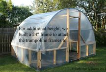 Recycled trambolin - Kierrätysideat trampoliini