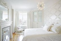 white, white and more white rooms / by Sally Cooper