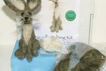 Needle felting kits