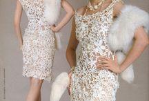 irish crochet patterns dress