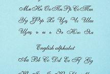 каллиграфия и письмо