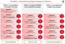 J'atteins le niveau intermédiaire en portugais européen avec Vocabulaire du Portugal / Suivez notre formation complète durant laquelle vous allez apprendre l'essentiel du portugais européen et atteignez un niveau intermédiaire en portugais européen.