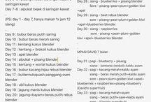 MPASI - recipe / MPASI - Resep dari berbagai sumber