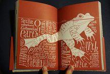 Bücher und Illustrationen