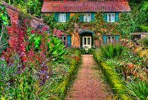 Casa y jardin