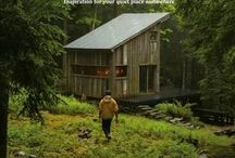 Cabin porn/forest / nature