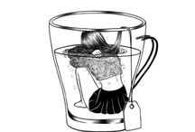 "Lady ""Tea"" / wanna cup of tea"
