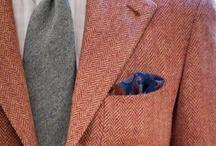 Gentleman's Wardrobe / The aspiring gentleman's outfit inspo