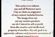 Disclaimer / Nothing is mine on Pinterest.  I'm just here to dream about things I want to make, things I want to see and do and basically to enjoy the ideas of others.