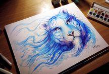 Lions tattoos