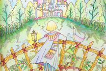 ERIY / Romantic Country: A Fantasy Colouring Book, Romantic Country: The Second Tale and Romantic Country: The Third Tale colouring books  #eriy #romanticcountry #adultcoloringbook #adultcolouringbook #coloringbook #colouringbook #coloring #colouring  #colouringforadults #coloringforadults #coloredpencils #colouredpencils #adultcoloring #adultcolouring #colouringforgrownups #coloringforgrownups #pencils #polychromos #prismacolor #derwent #inktense #staedtler #caran d'ache #kohinoor #posca #gelpens #pastels