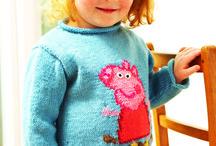 knitting pattern for Peppa Pig jumper