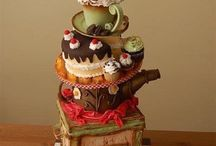 Tower cakes