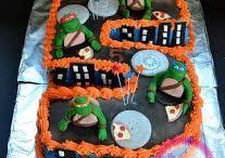 Teenage Mutant Ninja Turtle CakeDenzils B'day