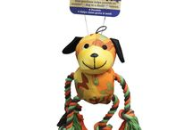 Dog Toys Galore / Dogs need toys to satisfy their need for chewing, playing, curiosity and more. Here are our recommended dog toys.