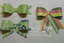 Craft Ideas ~ Bow Making