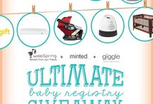 Ultimate Baby Registry Giveaway / We've teamed up with giggle and Minted to giveaway some of our registry faves.  Enter to win almost $5,000 in gear and goodies!   / by weeSpring