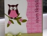 Owl Cards / Ideas using Owl on Cards