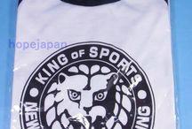 Wrestling NJPW / Japanese wrestling goods, book, DVD.