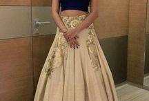Engagement lehenga / dress / gown