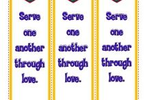 "Paul Wrote About Service Bible Activities / In Galatians 5:13, Paul encouraged his readers to ""serve one another through love."" This is an important lesson for any believer of any age. These Bible activities for kids will help them learn this important truth."