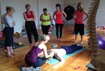 Pilates workshop in East Grinstead, UK 05/07/2014 – 06/07/2014