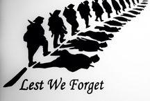 Anzac remembering