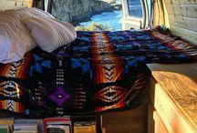Freedom Camping Travel Van