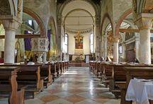 Chiesa di San Giacomo dall'Orio / The Chiesa di San Giacomo dall'Orio (or San Giacomo Apostolo) is a church located in the sestiere (quarter) of Santa Croce in Venice. The origin of the church's name is unknown.