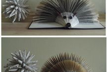 Book sculptures